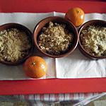 recette Crumble pomme-clémentine