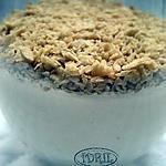 recette PANA COTTA à l' ERABLE et  MAPLES FLAKES