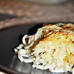recette Gratin de Spaghettis aux 4 Fromages