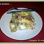 recette Gratin fondant endives & lasagnes