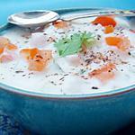 recette Recette indienne Raita concombre tomate