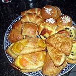 recette viennoiseries(oranais,chausson au pomme,croissants..........)