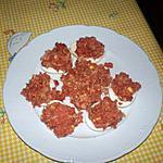 recette oeufs aux thon et tomate