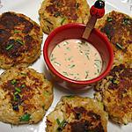 recette Lumpy Crab cakes aux épices