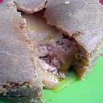 recette Moelleux de spéculoos au coeur coulant de foie gras