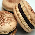 recette delicieux macarons au chocolat