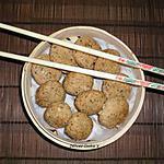 recette Bouchées vapeur saumon/tofu