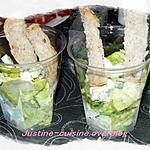 recette Salade au roquefort et au noix
