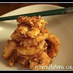 recette crevettes au beurre de cacahuètes