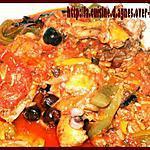 recette Cuisses de poulet aux 3 poivrons et aux olives de Nyons