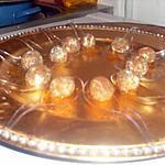 recette Idée apéritif billes de chevres miel et épices