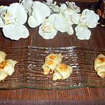 recette Croissants feuilletés blanc de dinde-fromage