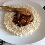 recette Poulet basquaise au riz