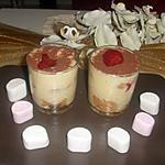 recette Tiramisu fraise