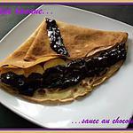 recette Crêpe banane sauce au chocolat