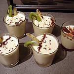 recette Délice de poire caramélisés avec sa créme de chocolat blanc !