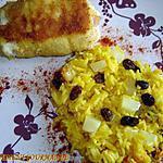 recette Petites paupiettes exotiques et riz pilaf à la vanille
