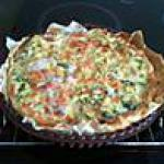 recette tarte au roquefort et brocolis