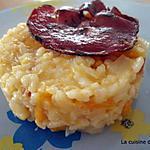 recette risotto potiron et coppa