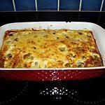 recette gratin de choux bruxelle et allumettes de lardons fumés