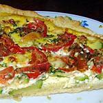 recette tarte tomates courgette