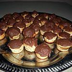 recette Mini gateaux au thé coque en chocolat