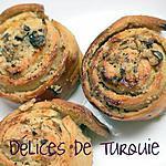 recette Escargots tahini - noix