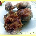 recette pilon de poulet à la crapaudine