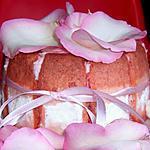 recette CHARLOTTE EN ROSE ISPAHAN