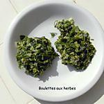 recette Boulettes aux herbes : spécialité tunisienne