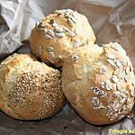 recette petits pains prêt en 20 minutes!