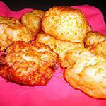 recette petits beignets à l'emmental