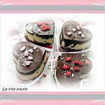 recette Coeurs aux 2 Chocolats et noix de Coco