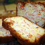 recette Cake saumon & surimi