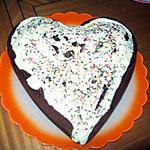 recette Mon gateau au chocolat pour la st valentin