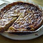recette Tarte aux lardons et fondue d'oignon