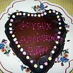 recette coeur au chocolat