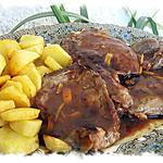 recette La côte de veau « Rosée des Pyrénées » au pistil de safran