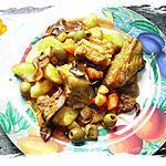 recette Ragoût aux travers de porc ( de ma grand-mère)