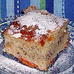 Gâteau au yaourt,amandes et abricots,rapide et délicieux !
