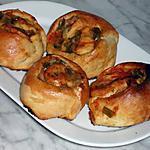 recette Roulés aux poivrons,thon et olives vertes