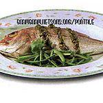 recette Deurade au sicilienne pesto
