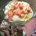 recette Iles flottantes aux marshmallows en 10 minutes chrono