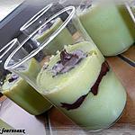 recette Semoule à la pistache & au nutella
