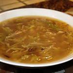 recette Soupe à l'oignon & chou frisé