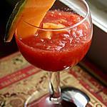 recette Sangria à la pastèque pétillante