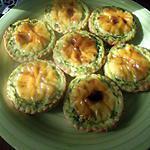 recette Tartelettes de saumon fumé, épinards et poireaux