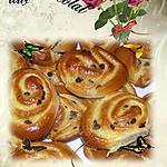 recette petit pain aux pépites de chocolat