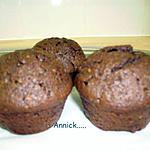 recette muffins choco-pralin