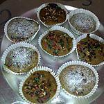 recette Cakes au son et pépites de chocolat ( diététiques)